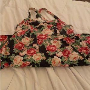Forever21 floral dress!